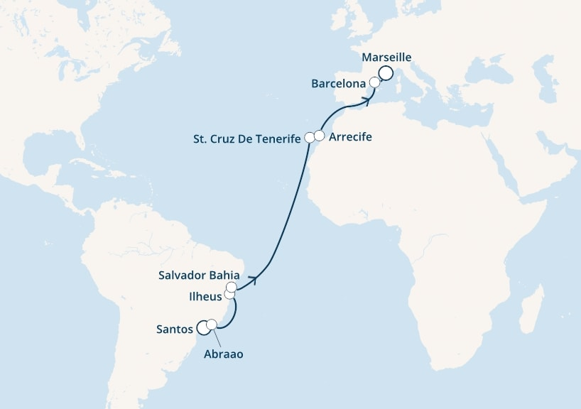 17-days Canary cruise onboard Costa Luminosa
