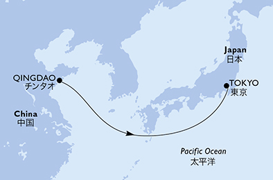4-days North Asia cruise onboard MSC Bellissima
