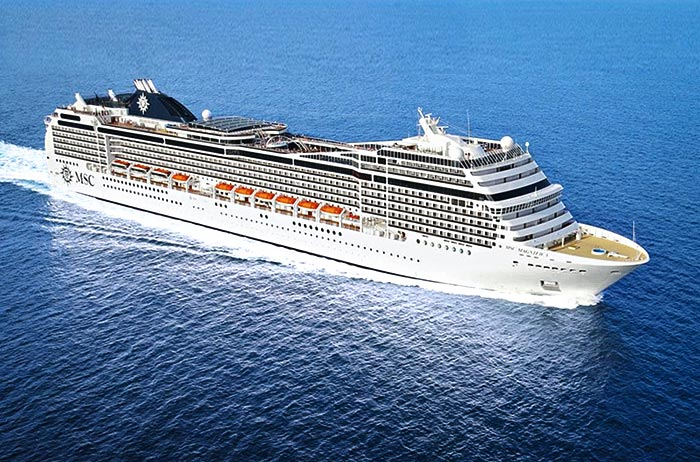 Cruise onboard MSC Magnifica