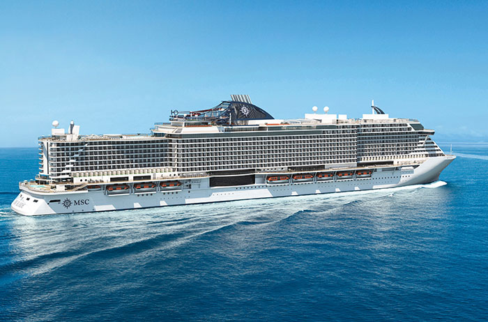 Cruise onboard MSC Seaside