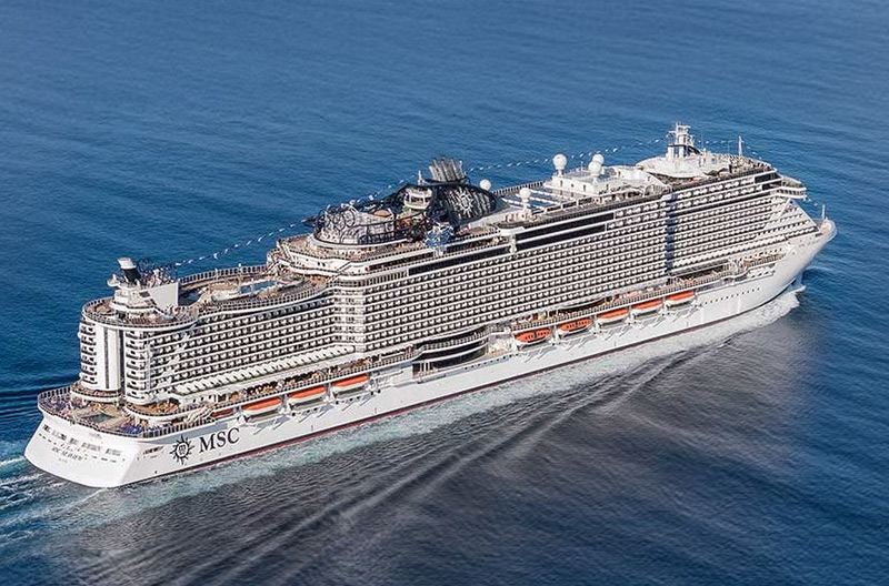 Cruise onboard MSC SEAVIEW